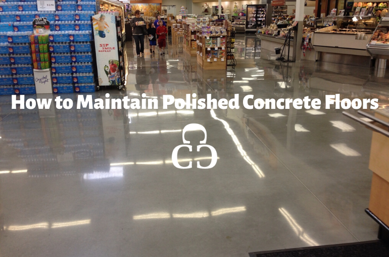 Updated: How to maintain polished concrete floors