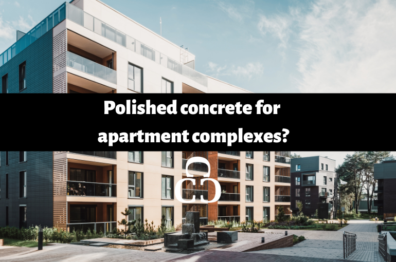 Polished concrete for apartment complexes?