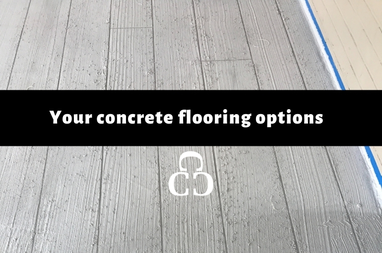 Your Concrete Flooring Options