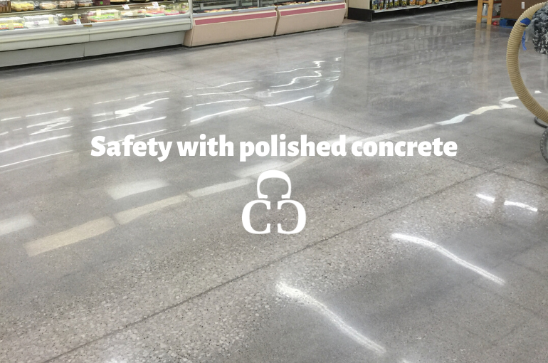 Safety with polished concrete