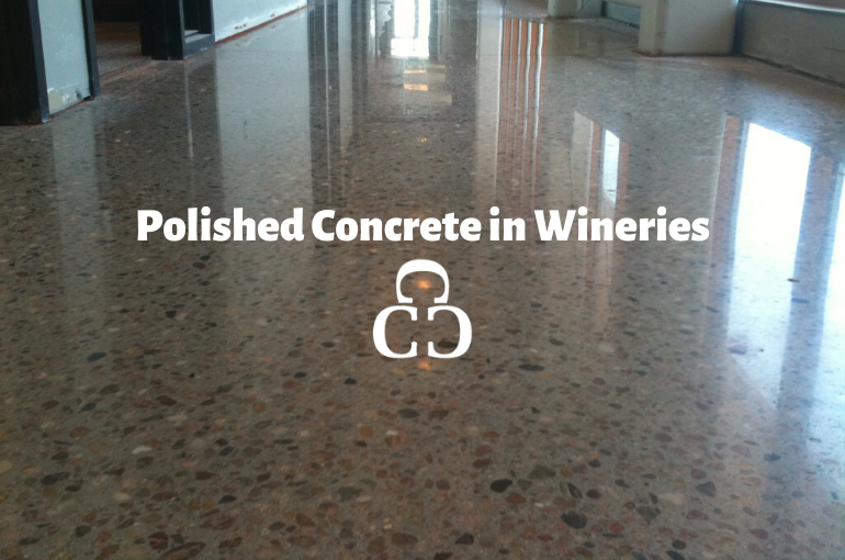Polished Concrete in Wineries