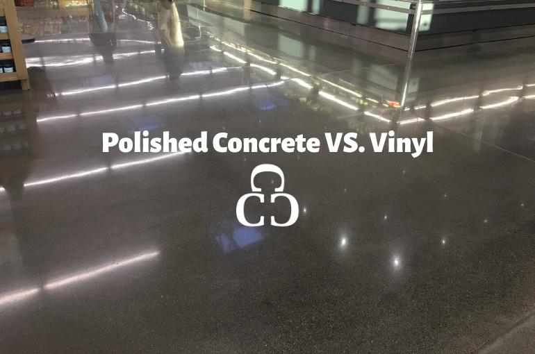 Polished Concrete VS. Vinyl