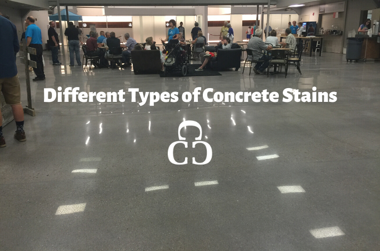 Different Types of Concrete Stains