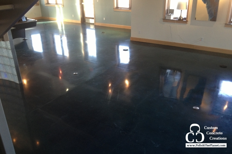 Different Ways To Add Color To Your Concrete Floors
