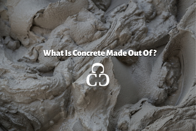 What is concrete made out of?