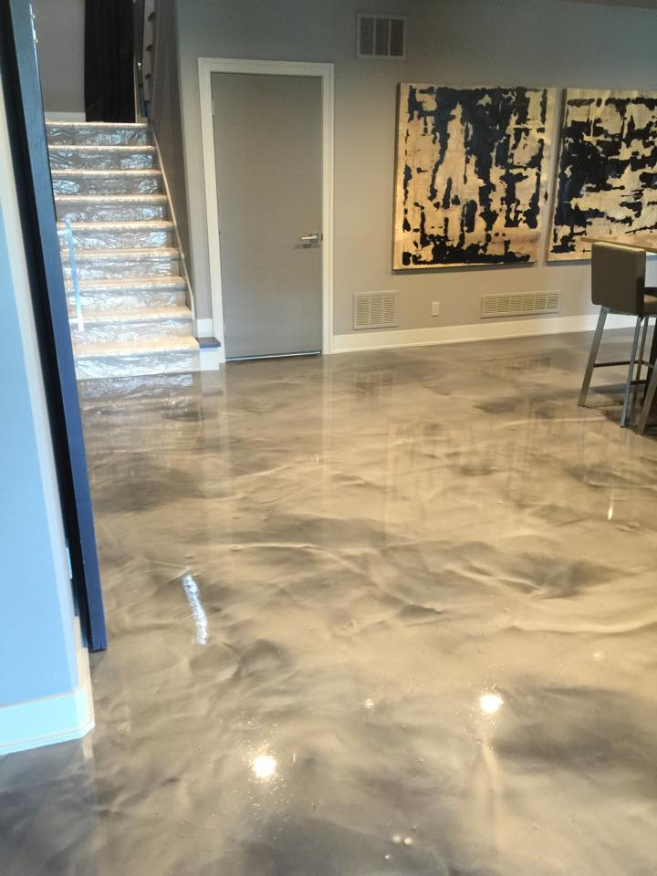 Ideas for Your New Concrete Finished Basement