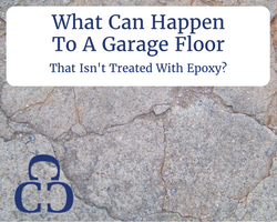 What Can Happen To A Garage Floor That Isn't Treated With Epoxy?