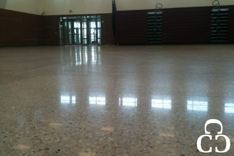 Utilizing polished concrete flooring in schools