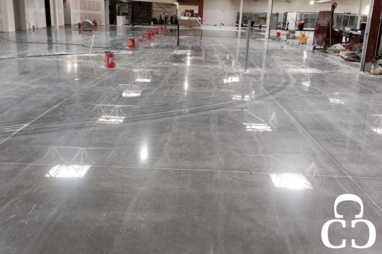 Polished concrete in commercial industries