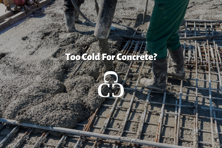 Can you pour concrete in the winter?