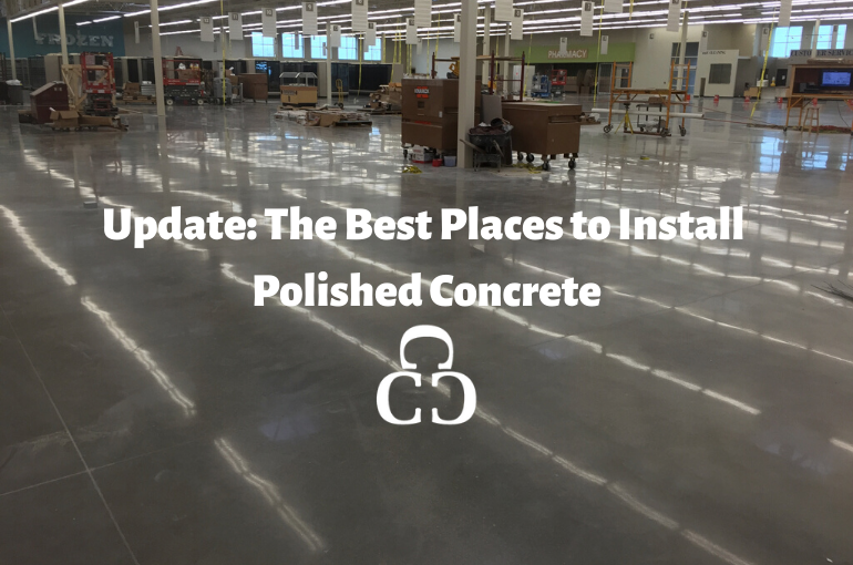 Update: The best places to install polished concrete