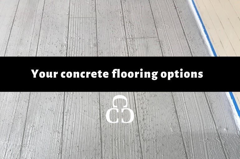 Your Concrete Flooring Options