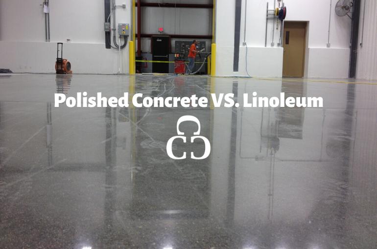 Polished Concrete VS. Linoleum