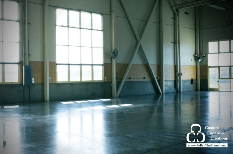 Benefits of using polished concrete flooring in your warehouse