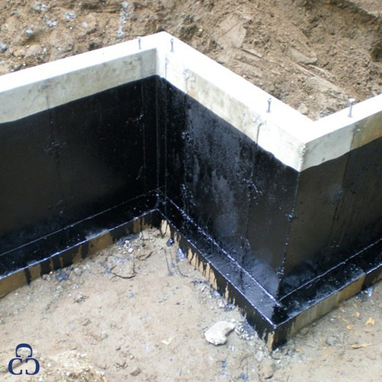 Waterproofing A Foundation