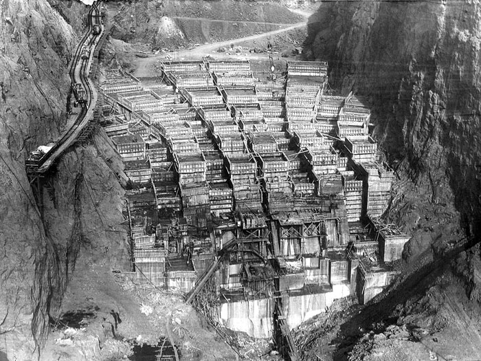 Concrete Structures: The Hoover Dam