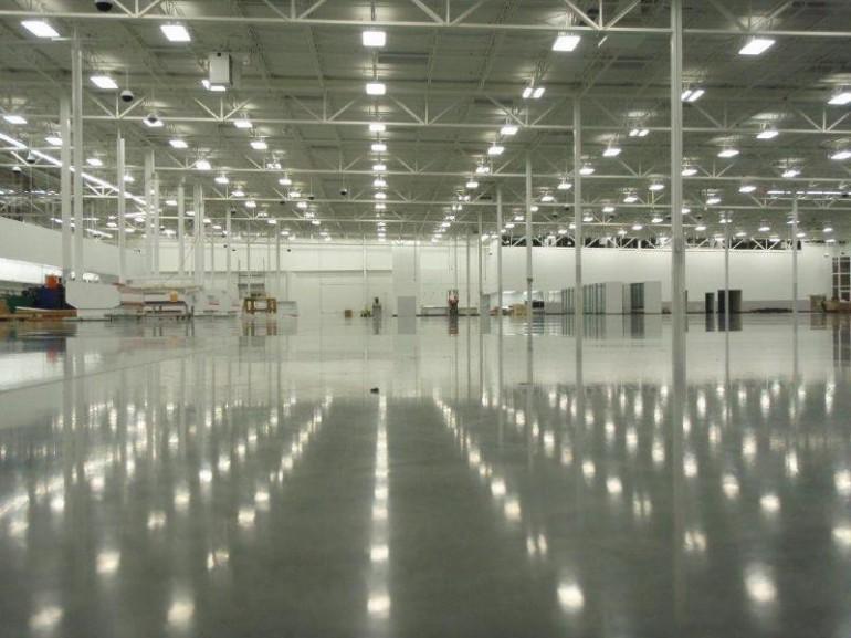 Environmentally Conscious Polished Concrete Floors